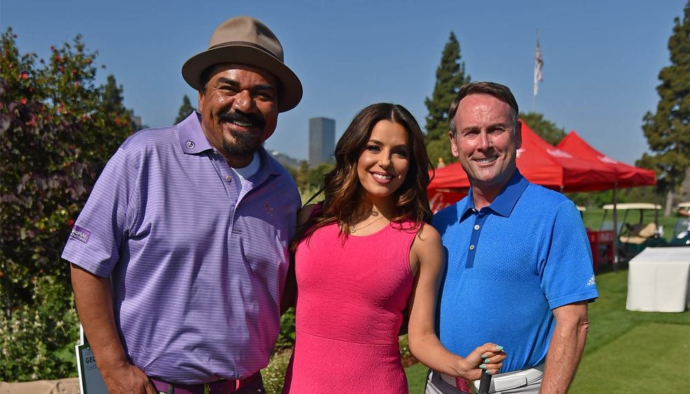 George Lopez, Eva Longoria, Michael G. Wilson 9th Annual George Lopez Celebrity Golf Classic
