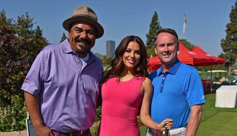 George Lopez, Eva Longoria, Michael G. Wilson 9th Annual George Lopez Celebrity Golf Classic