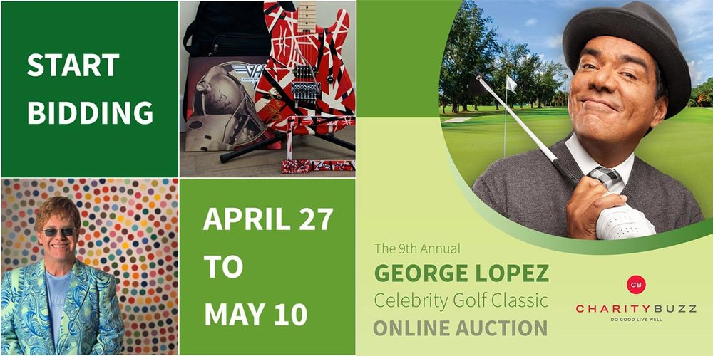 Charitybuzz online auction closes May 10, 2016
