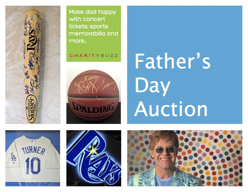 George Lopez Foundation Charitybuzz Father's Day Auction