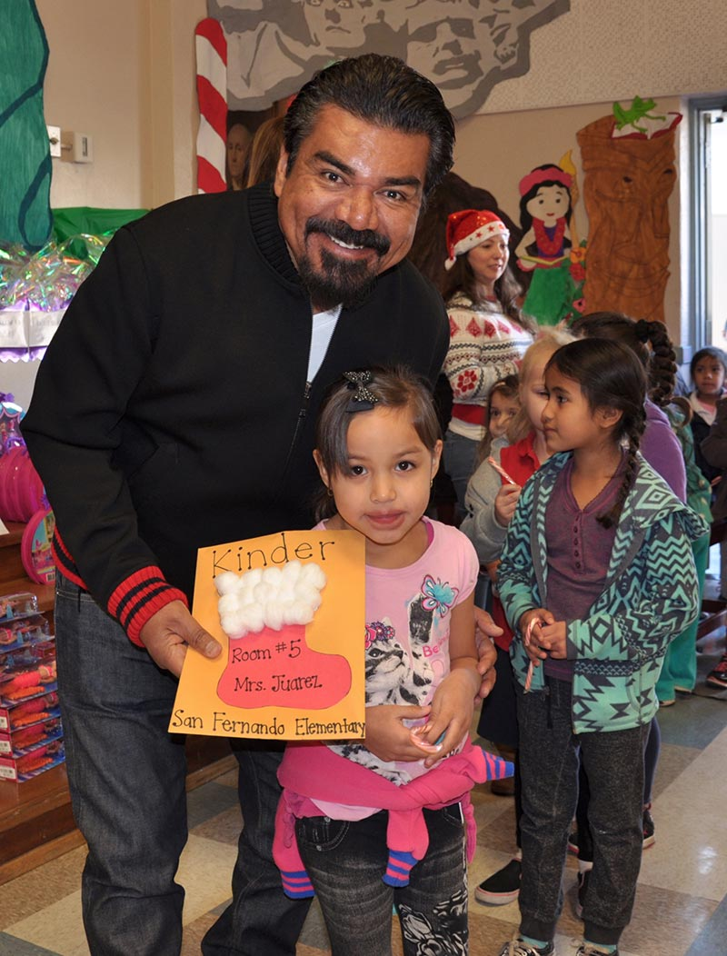 George Lopez Foundation Toy Drive