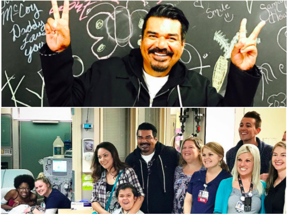 George Lopez OKC Children's Hospital