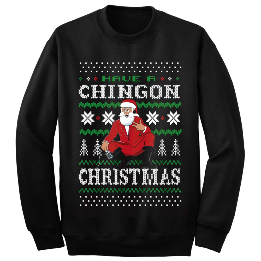 Chingon Christmas Holiday Sweater