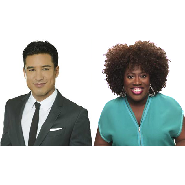 Sheryl Underwood & Mario Lopez 44th Daytime Emmy Awards Hosts