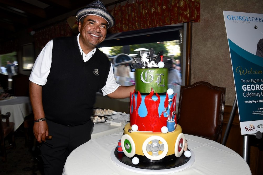 George Lopez Happy Birthday Cake