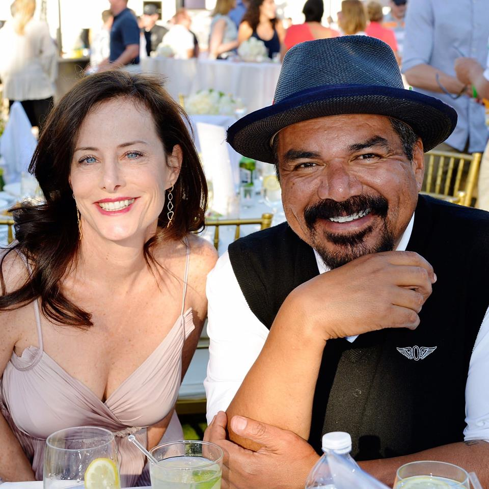 Stacey and George Lopez at the 10th Anniversary George Lopez Celebrity Golf Classic