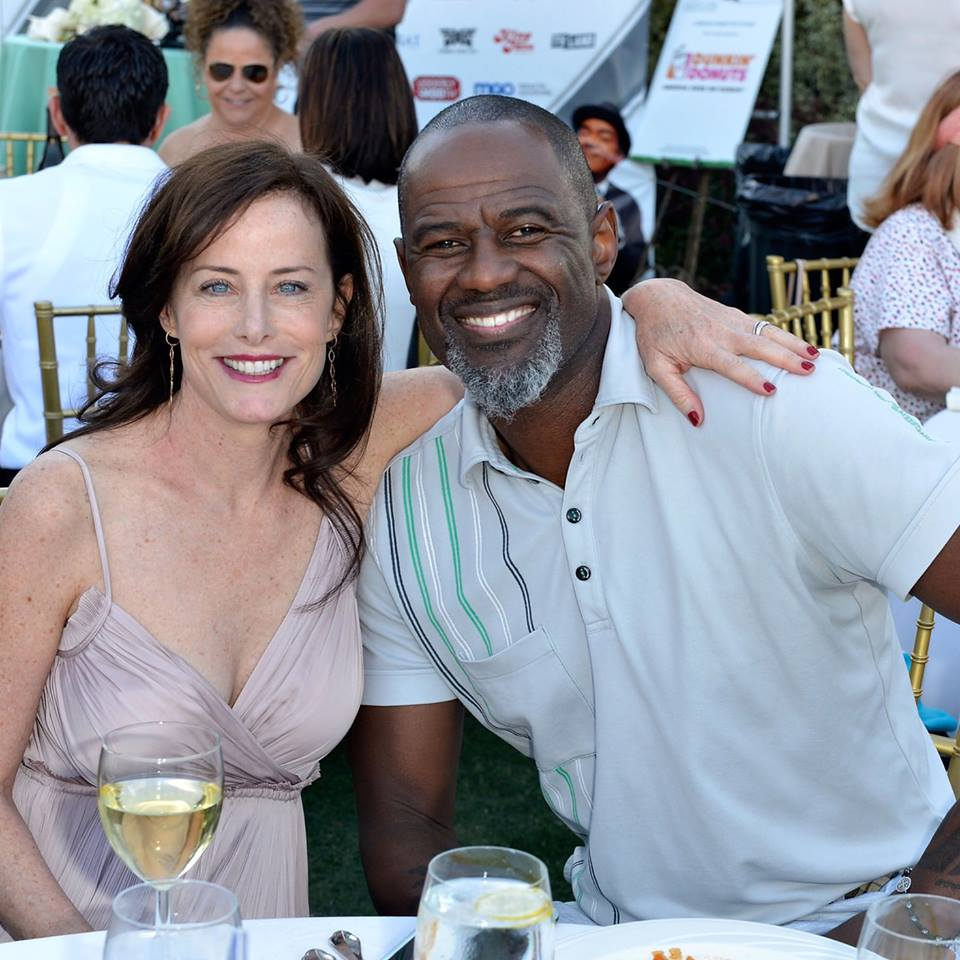 Stacey Kohl and Brian McKnight at the 10th Anniversary George Lopez Celebrity Golf Classic