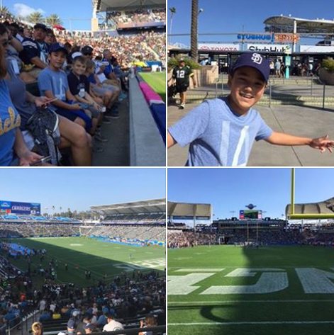 Bolt Pride San Diego Chargers Tickets for Foundation