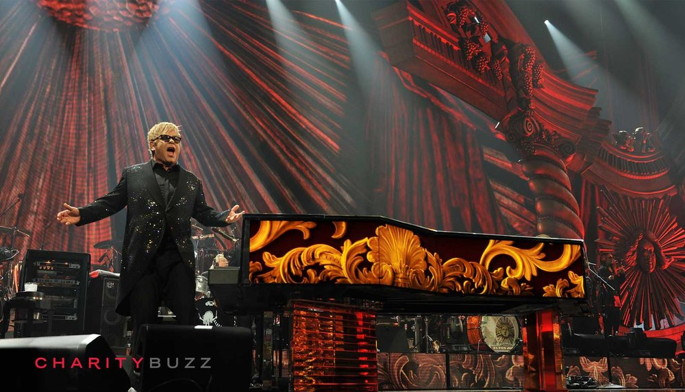 Great Art for a Great Cause   DON'T MISS ELTON JOHN    BID NOW