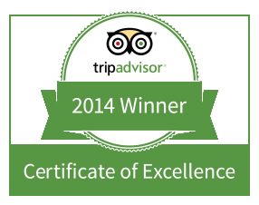 Rated #1 on Trip Advisor!