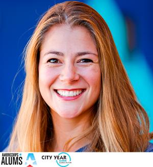 Kathryn Reynolds, Coordinadora Comunitaria de City Year