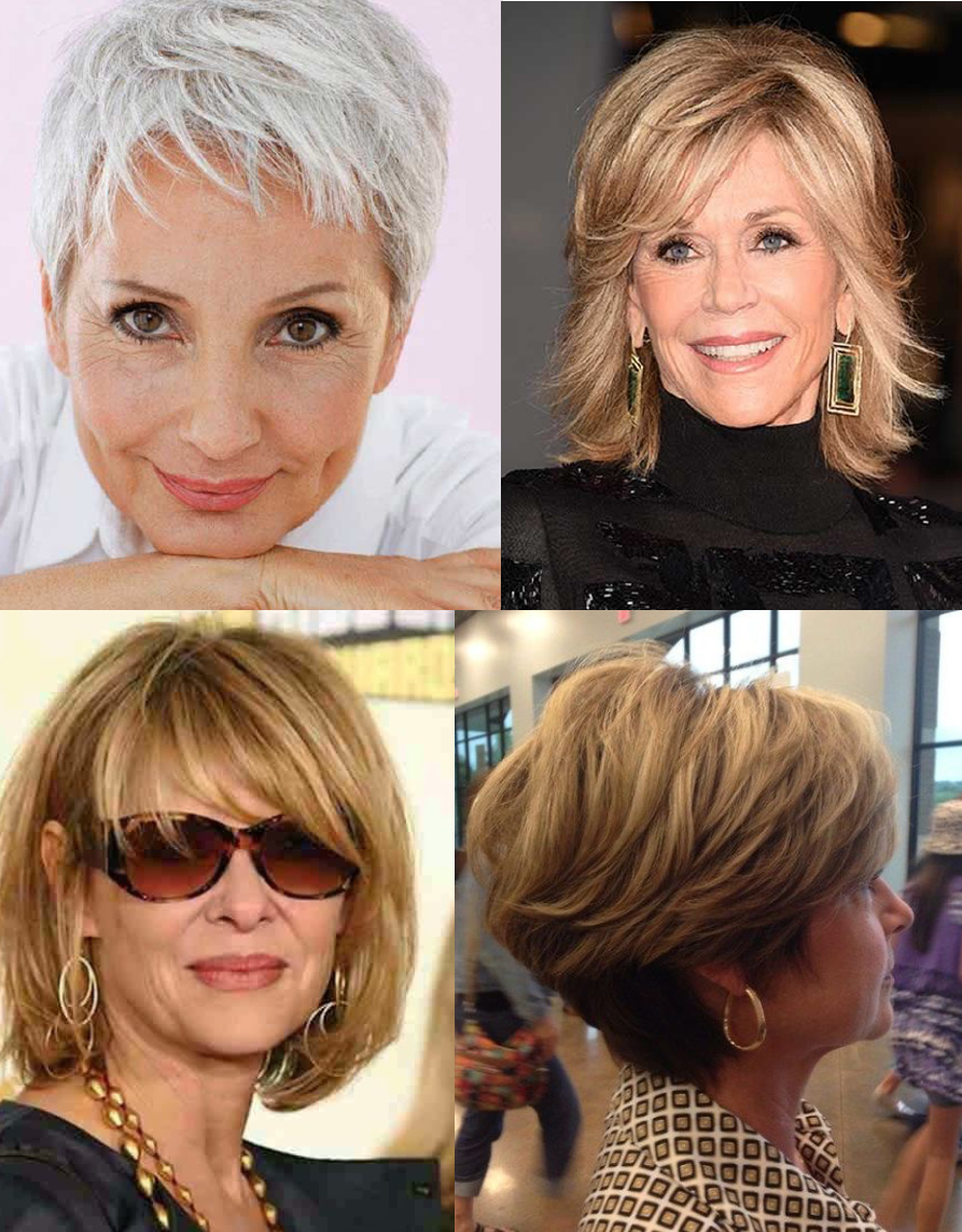 What hair style looks good on women over 50? — At Home Hair Trends