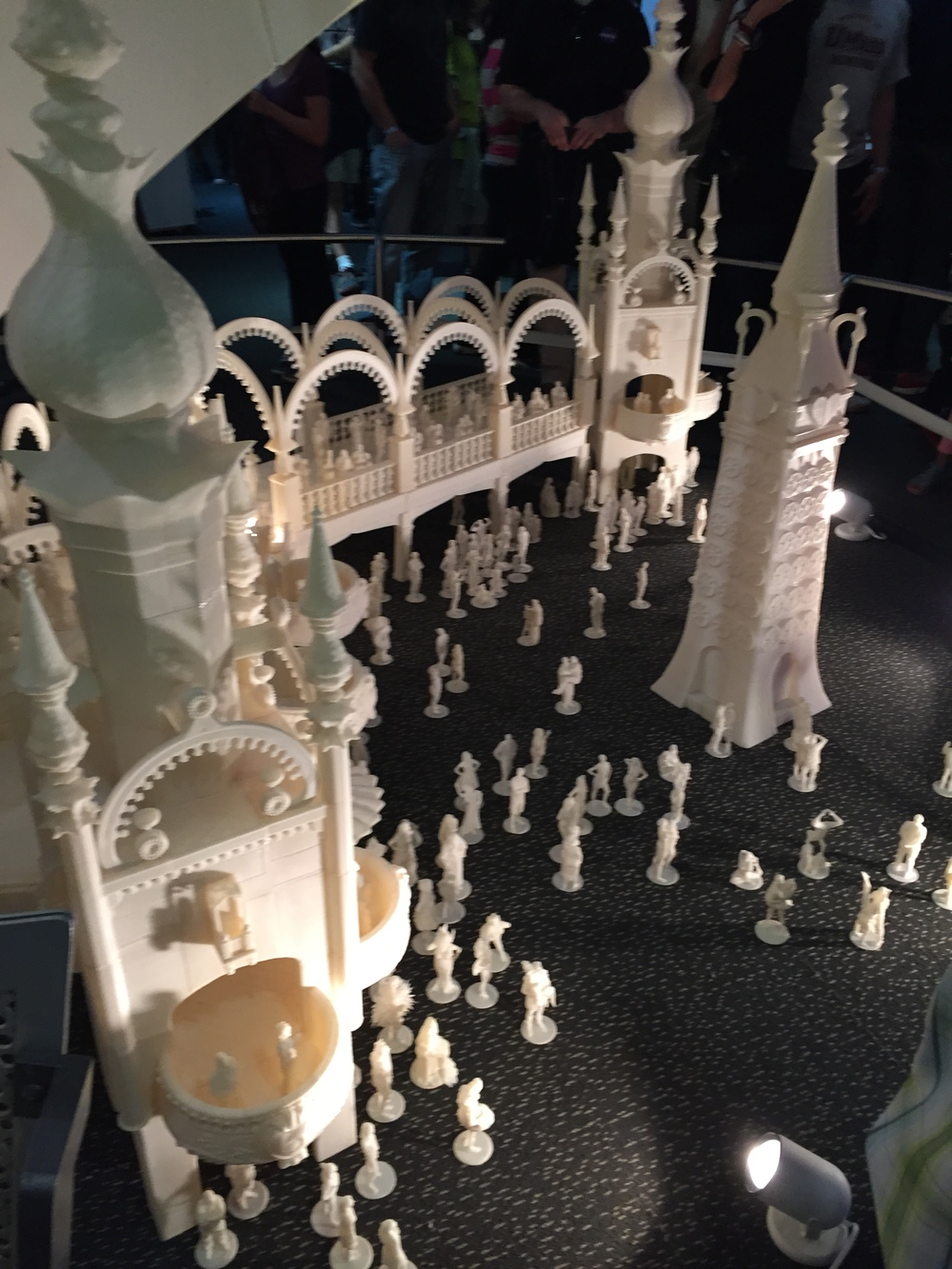 Some Meadowbrook 3D scans were included in the Great Fredini's Coney Island display.