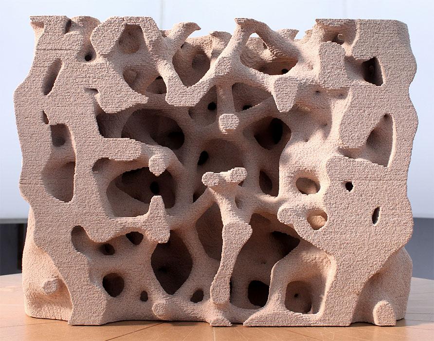 3D-printed result