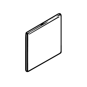 6 x 6 Surface Bullnose