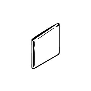 4 1/4 x 4 1/4 Surface Bullnose Angle