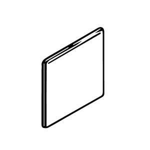 3 x 10 Surface Bullnose