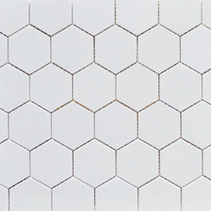 Hex White Matte 2 x 2