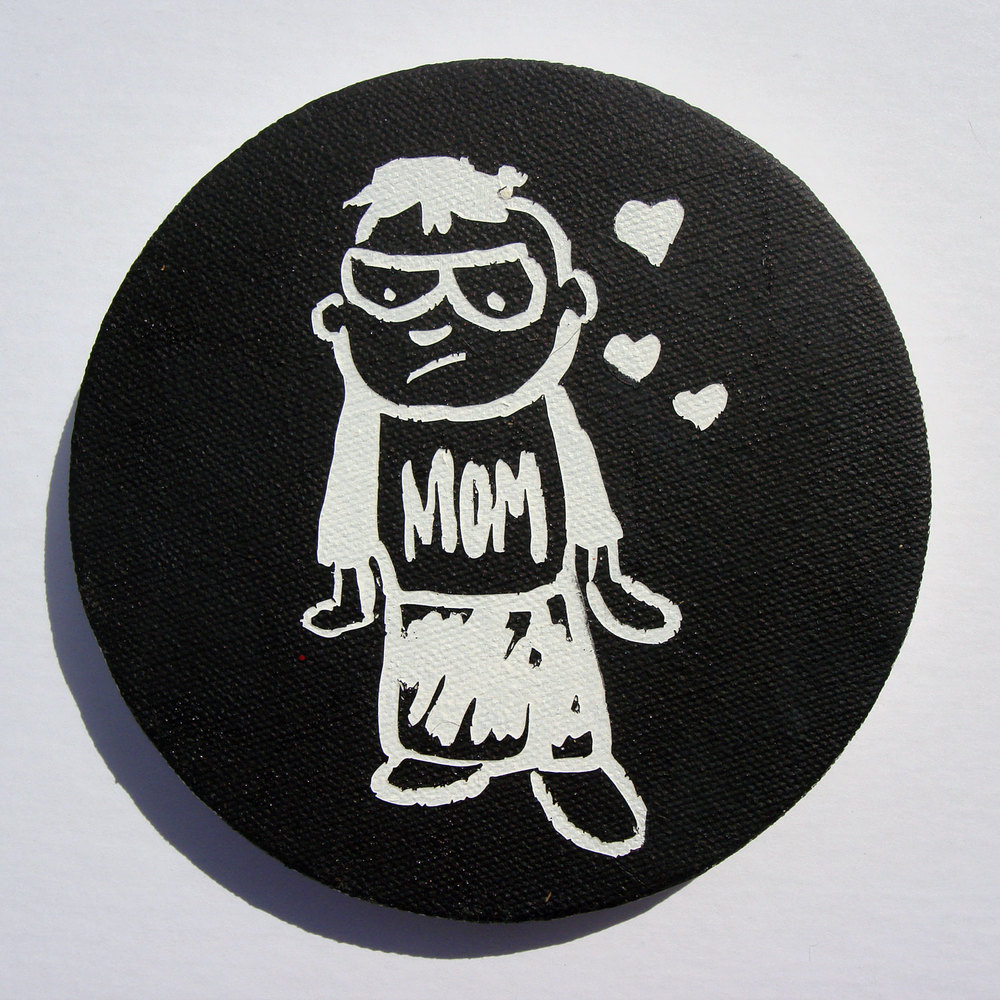 Love Mom (Black)
