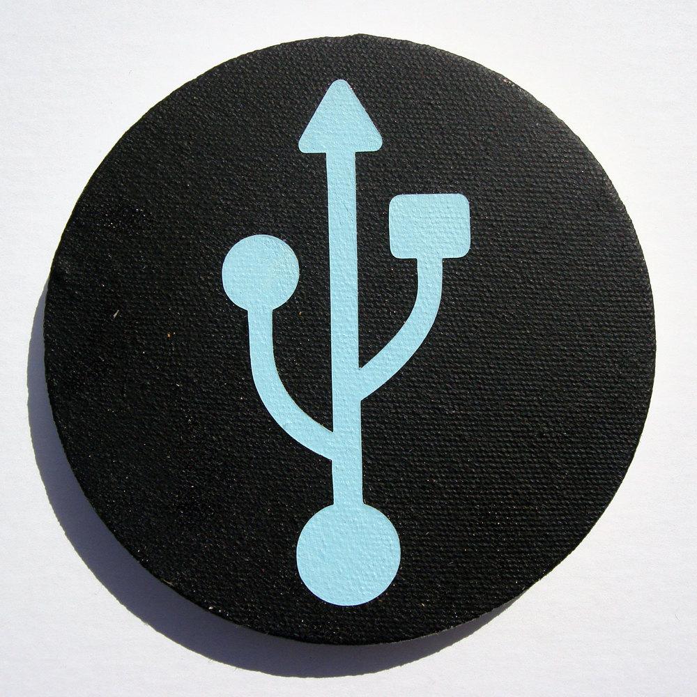 USB (Blue)