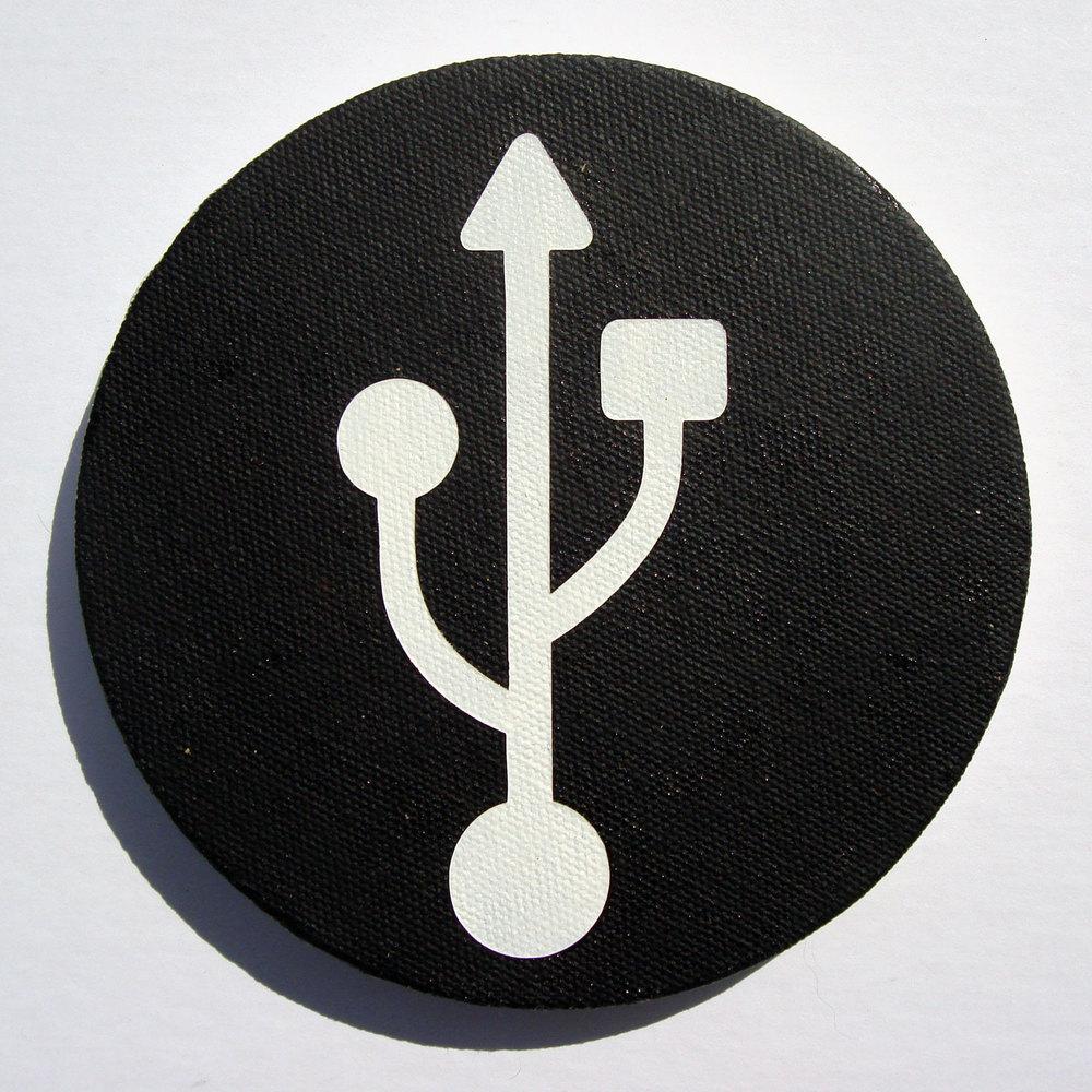 USB (White)