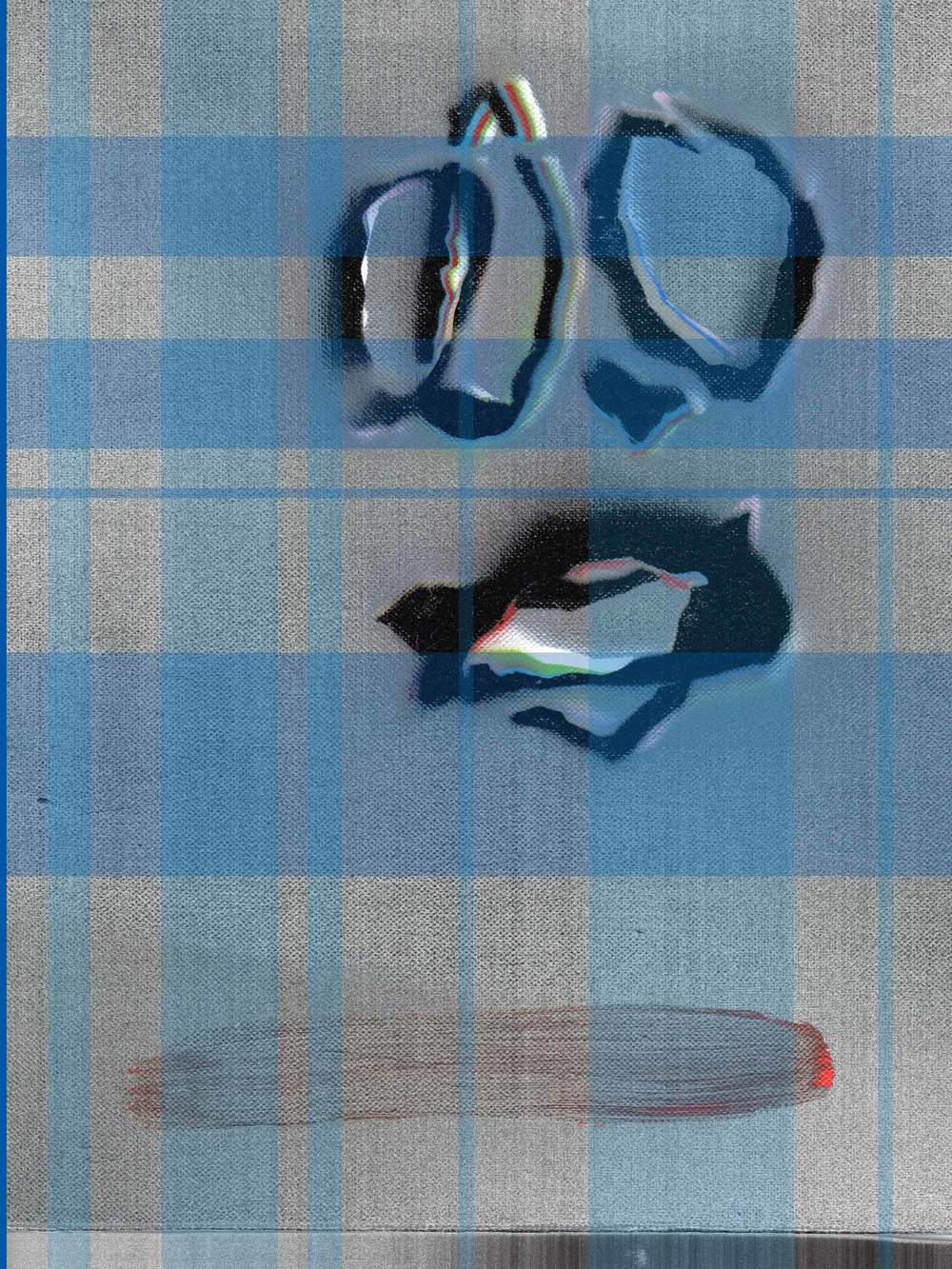 Cattle Prod (Blue Plaid)