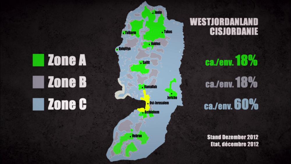 Source ARTE : https://info.arte.tv/fr/la-repartition-en-trois-zones-de-la-cisjordanie
