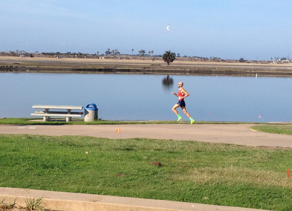 San Diego is a REALLY rough place to run/race in. This is mid-November, folks.