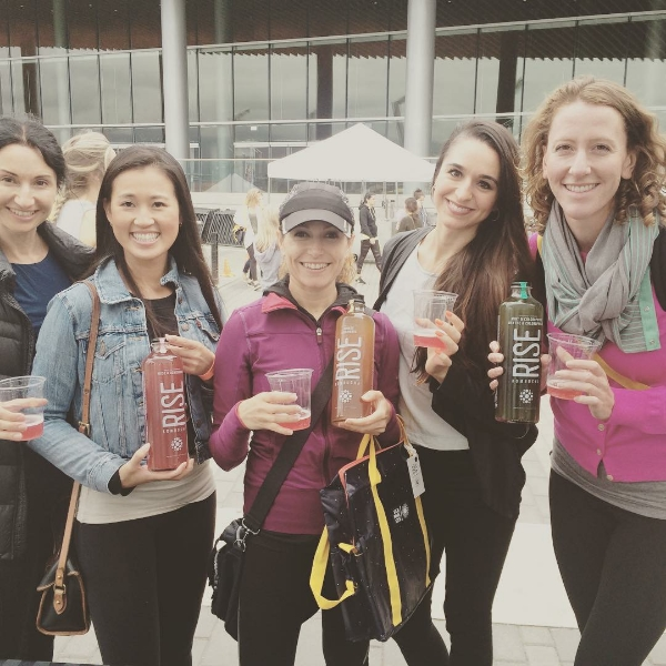 Kombucha samples? yes, please.
