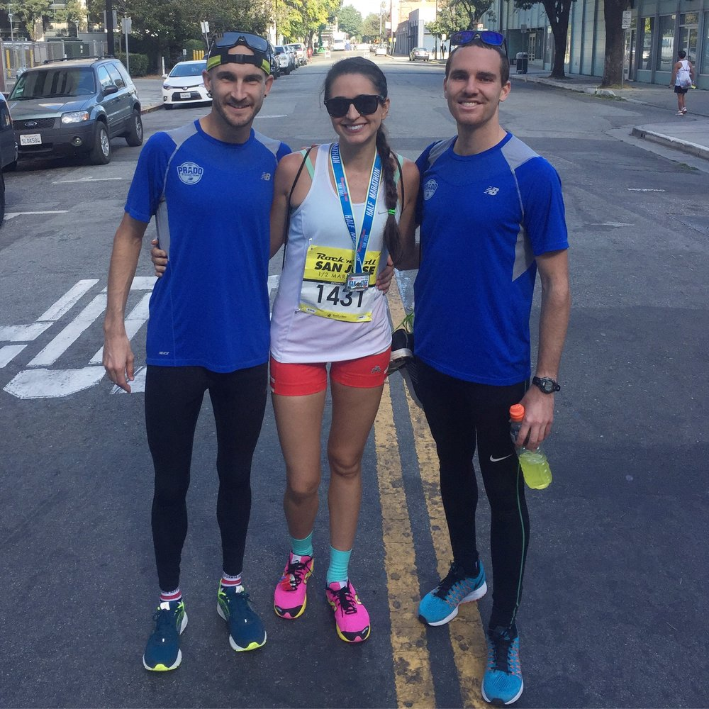 SQUAD (where i bring down our half marathon avg. no big deal.)