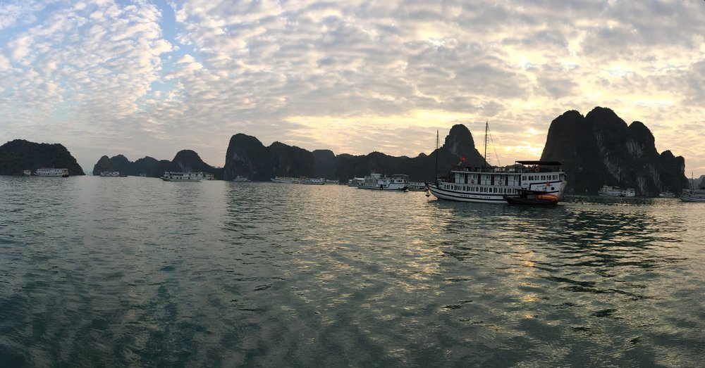 Halong bay is easily one of the most magical/beautiful places I've been to.