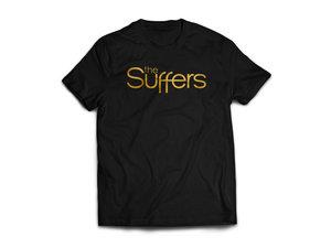 T shirt design richmond va - The Suffers Toddler Black Gold