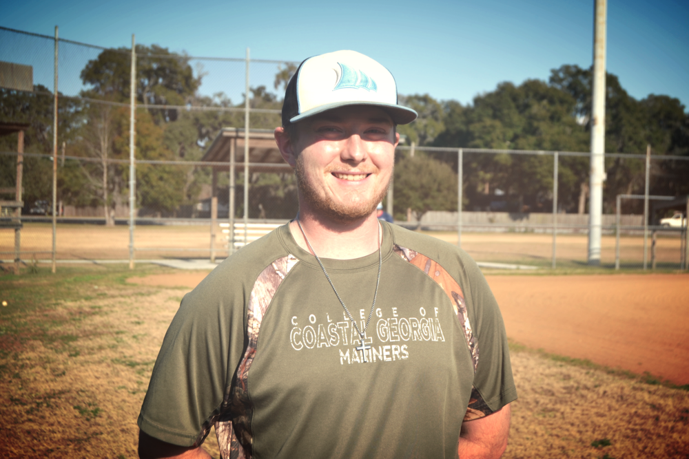 Baseball Club president Chase Belcher