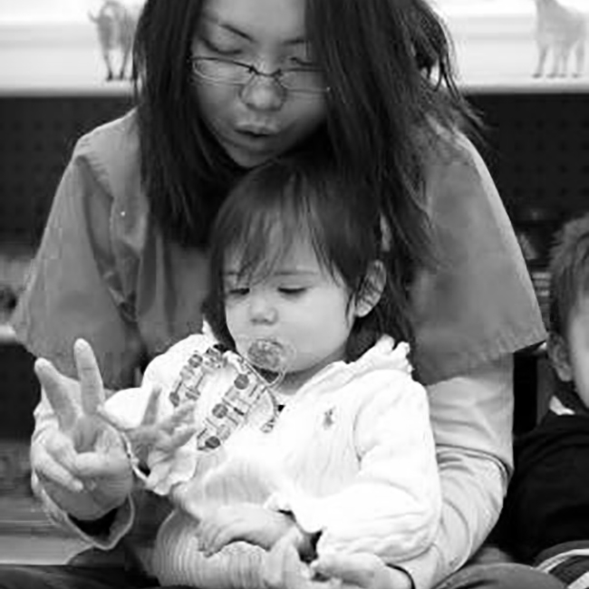 Playtime at the Rosemount Center in D.C. Photo: Jessica Gould // Story: Activists Call for Enhanced Early Education
