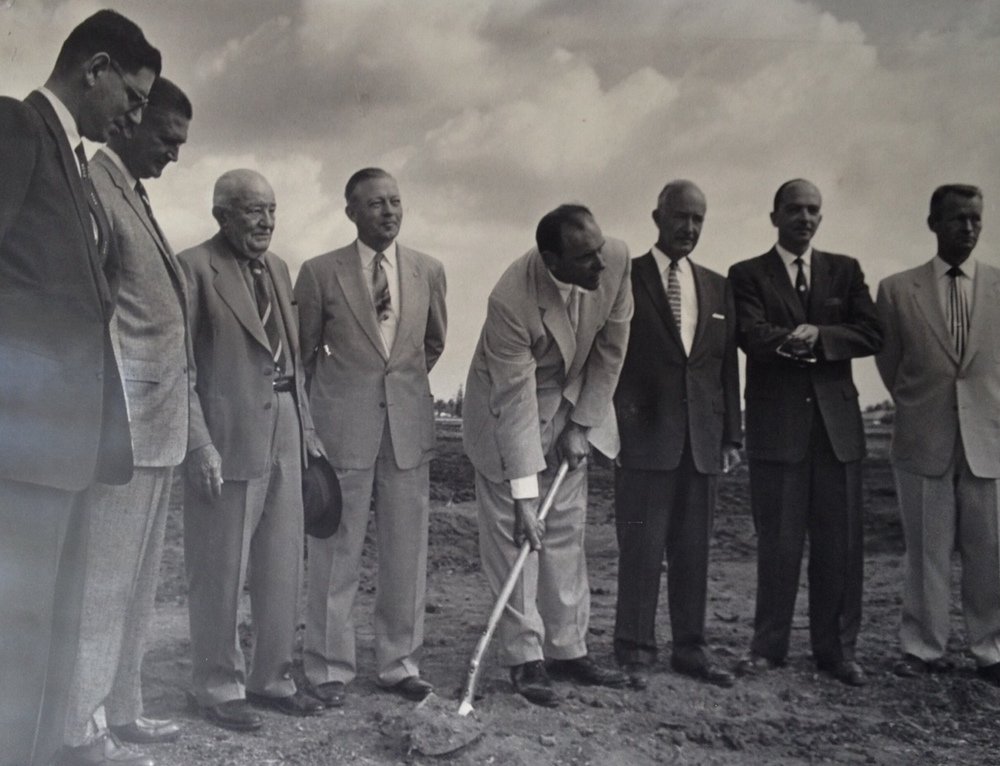 """The Groundbreaking"" was on September 12  th  , 1957.  It was a ceremony that symbolized the beginning of Cupertino High School."