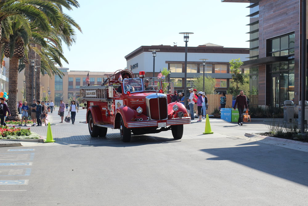 Fire truck from the San Jose Fire Museum
