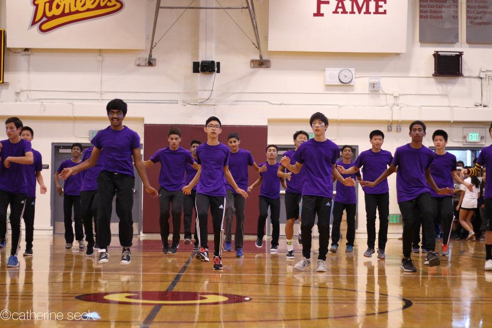 Homecoming - Freshmen boys dance