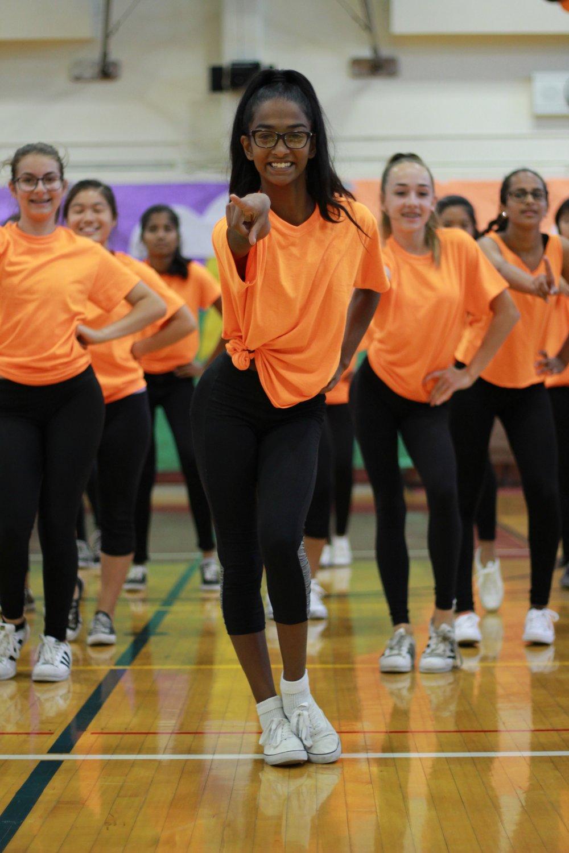 Homecoming - Freshmen girls dance