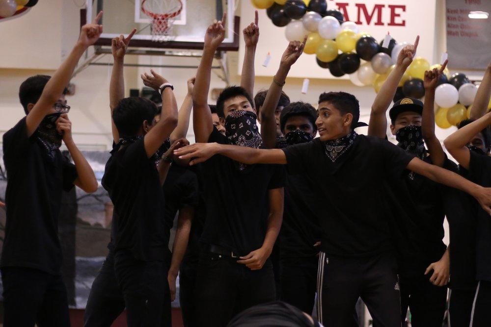Homecoming - Juniors boys dance