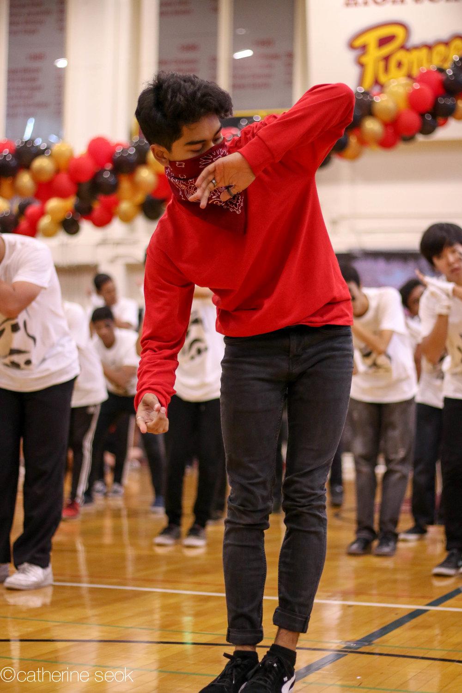 Homecoming - Senior boys dance