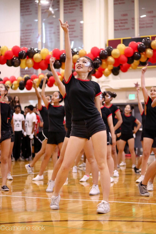 Homecoming - Senior girls dance