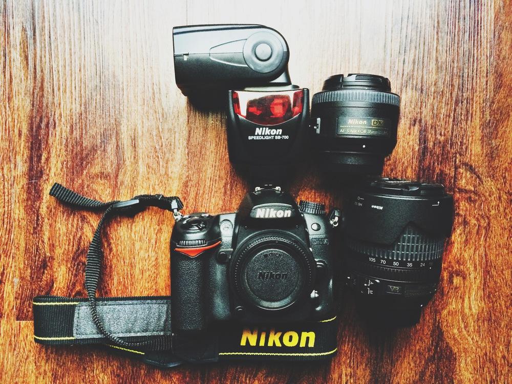My Gear   Nikon D7000, SB 700, 35mm f/1.8g, 18-140mm f/ 3.5-5.6