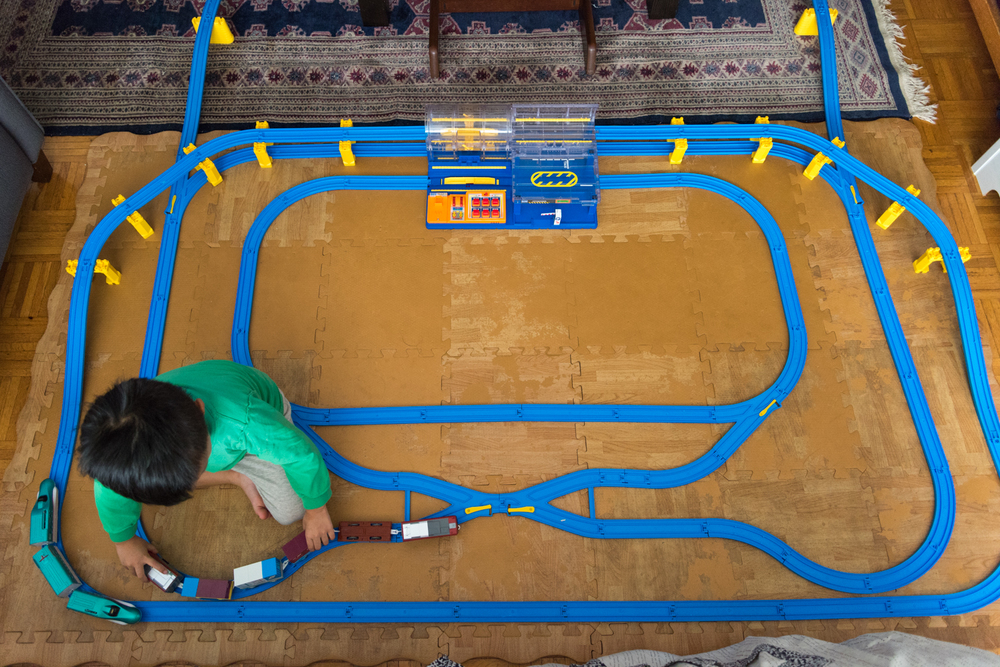 ROCK MAMA NYC LIFESTYLE BLOG - boys dream toy - plarail