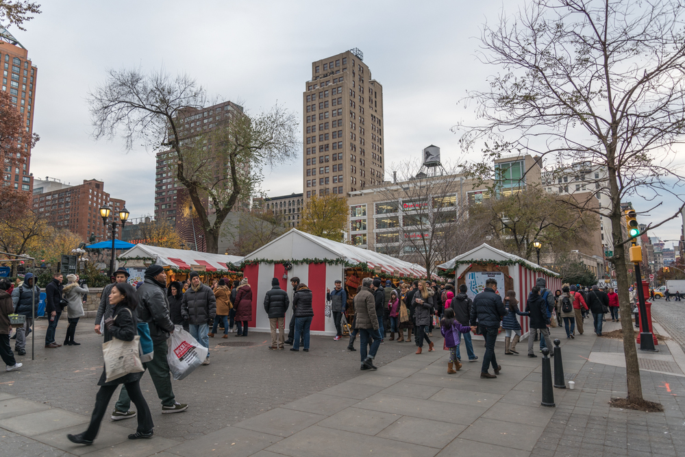 ROCK MAMA NYC LIFESTYLE BLOG - UNION SQUARE HOLIDAY MARKET