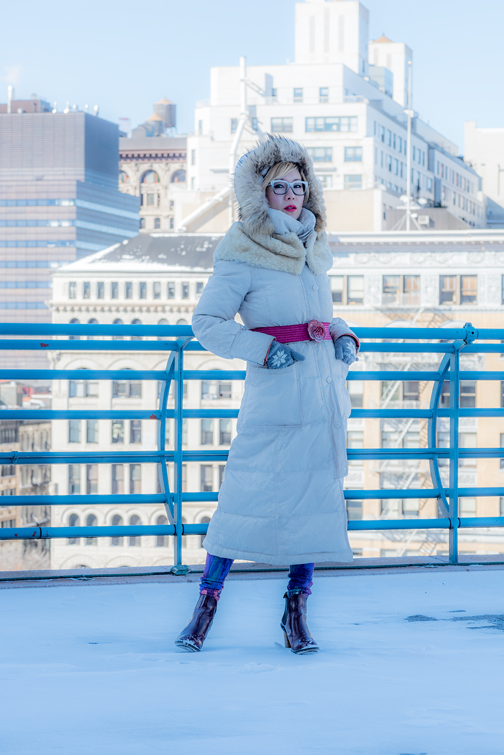ROCK MAMA NYC LIFESTYLE BLOG - snow day in manhattan