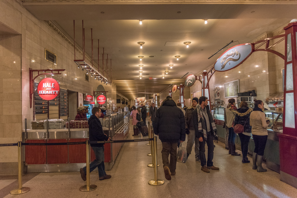 ROCK MAMA NYC LIFESTYLE BLOG - DINING CONCOURSE - GRAND CENTRAL STATION