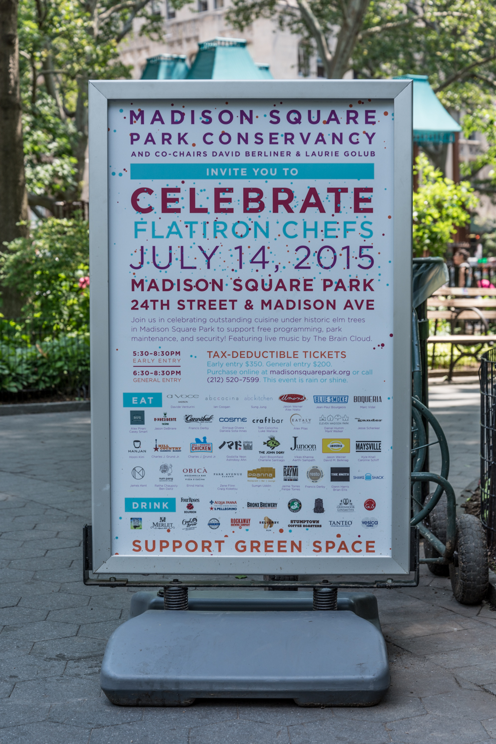 ROCK MAMA NYC LIFESTYLE BLOG - SUMMER FUN AT MADISON SQUARE PARK