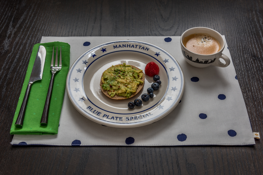 ROCK MAMA NYC LIFESTYLE BLOG - SUPER EASY AVOCADO AND COCONUT OIL BREAKFAST