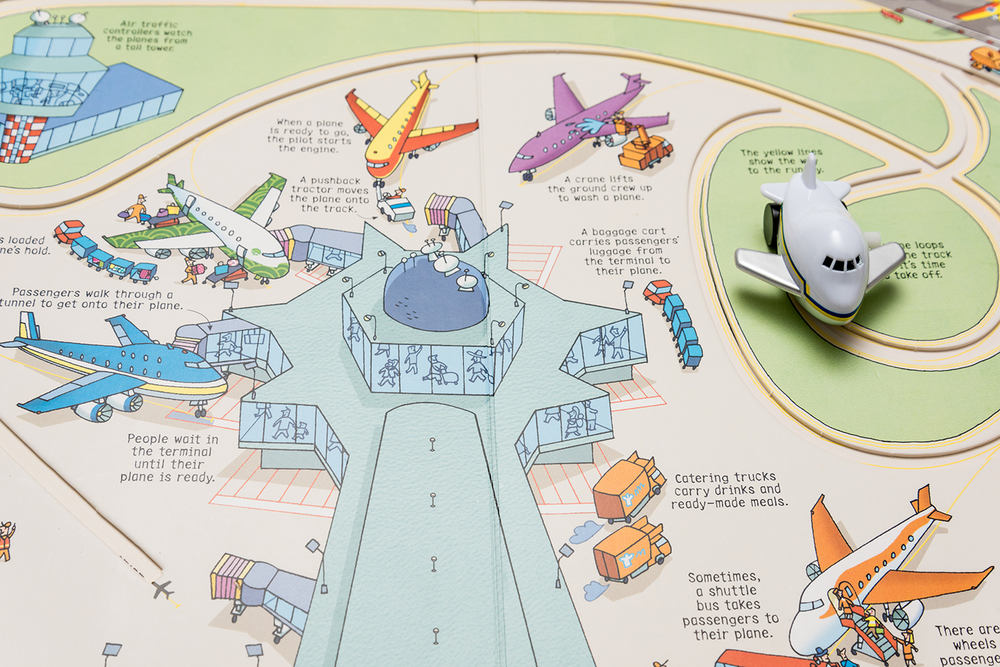 ROCK MAMA NYC LIFESTYLE BLOG - GREAT AIRPLANE BOOK FOR YOUR TODDLER - WIND UP PLANE BOOK