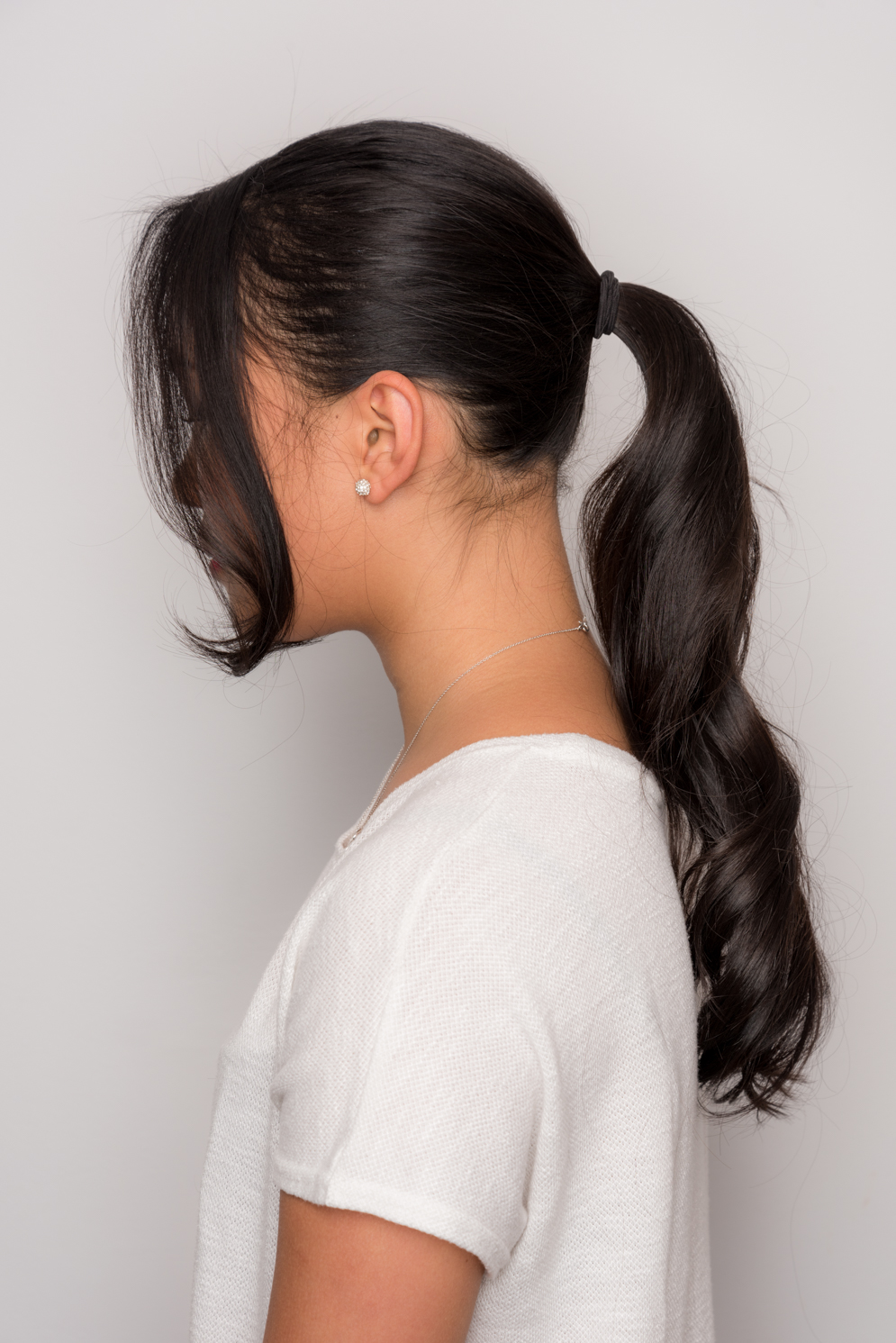 ROCK MAMA NYC LIFESTYLE BLOG - HOW TO MAKE EASY AND STYLISH PONY TAIL